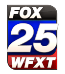 FOX25 WFXT Stacked Logo