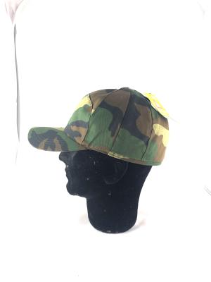 cappello visiera duble face mimetico arancio