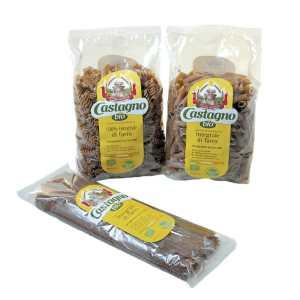 pasta integrale di farro pastificio castagno bio