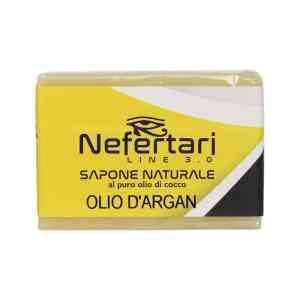 sapone naturale al puro olio di cocco all' argan
