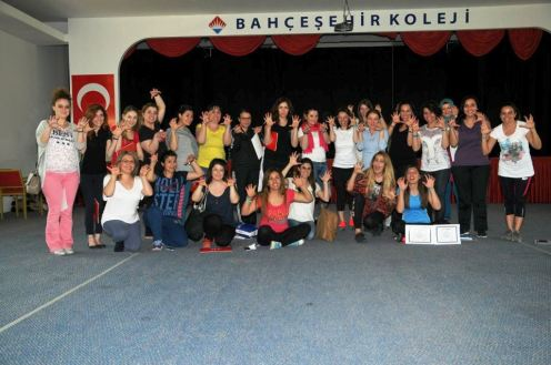 Bahçeşehir Koleji Nefes & Kahkaha Yogası & Çocuk Yogası Semineri