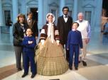 Harry & BJ with the Lincoln Family.