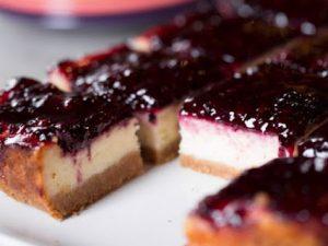 Blackberries Cheesecake Tarifi - Tatlı Tarifleri