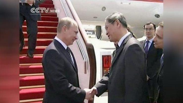 Путин визит в Китай 1