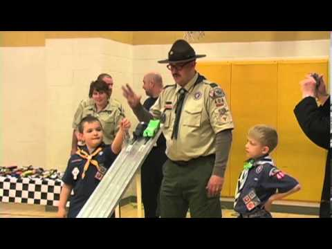 2013 Mountain District Pinewood Derby Race