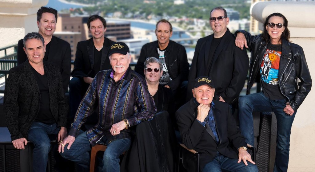 Die Beach Boys 2019 mit Mike Love