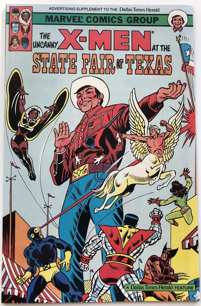 The Uncanny X Men At The State Fair Of Texas Cover