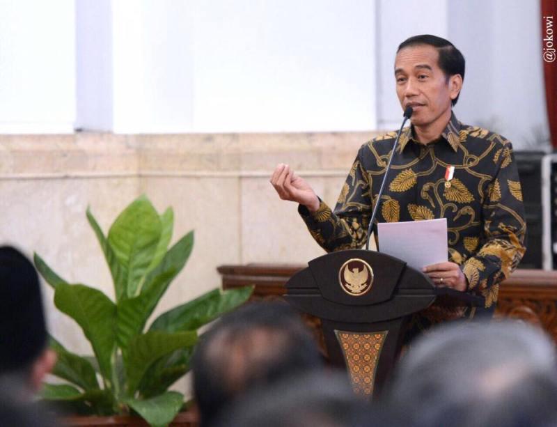 Presiden Joko Widodo (foto: Biro Pers Setpres)