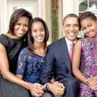 Obama dan keluarga. Foto: analisadialy