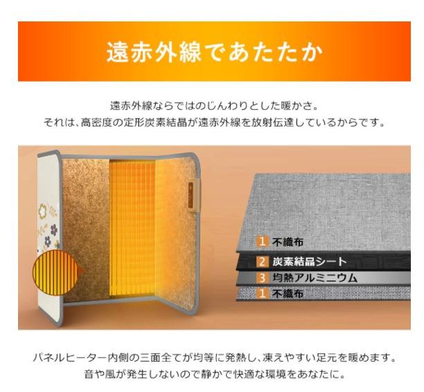 テレワークの暖房にパネルヒーターがおすすめ 口コミ