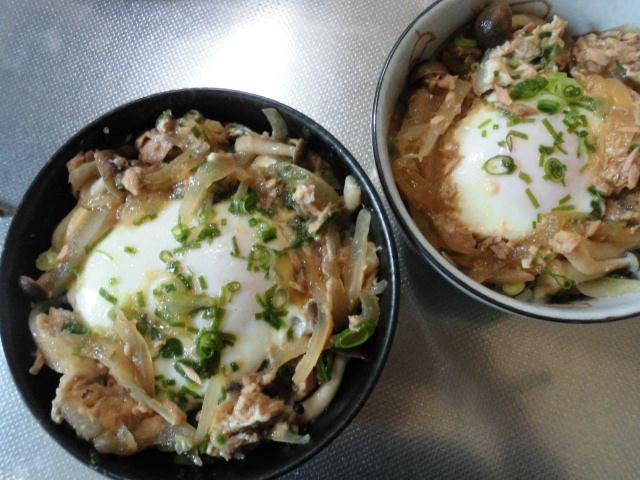 親子丼のレシピ~ツナ缶と卵をつかった簡単で美味しいコスパな にたもの 親子丼~