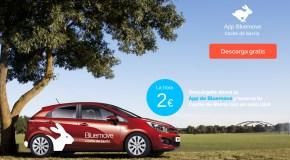 El carsharing, alquiler de coches por horas de Bluemove