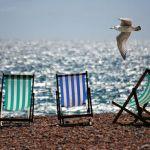 Negocio de taquillas de pago en la playa