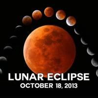 Hoy el último eclipse lunar penumbral de 2013