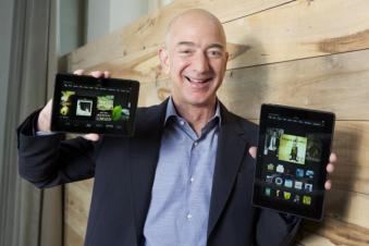 # 15 Jeff Bezos, fundador y director general de Amazon.com.