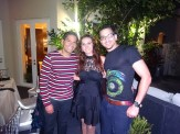 Ismael Cala, Karen Blanco y Bruno Torres.