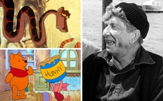 Sterling Holloway was an actor that Disney turned to time and time again. Those born in the first half of the 20th century may remember him as Uncle Oscar in the TV series the Adventures of Superman, however it is his voice that is best loved as that of Winnie the Pooh, Kaa in The Jungle Book, Mr Stork in Dumbo and the Cheshire Cat in Alice and Wonderland. Picture: Rex (right)