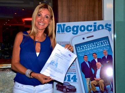 El segundo premio fue gentileza de la agencia de viajes RLA Tourism que sorteó entre los asistentes, una estadía completa para dos personas de 4 días, 3 noches en el lujoso hotel Great Parnassus All Inclusive Resort & Spa de Cancún, México. La ganadora de este premio fue María del Carmen Alvarez.
