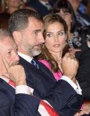 La feria fue inaugurada oficialmente por los príncipes de Asturias, Felipe y Letizia.
