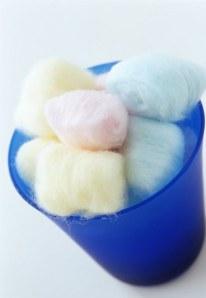 La peligrosa dieta de bolas de algodón
