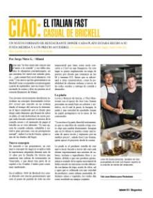 CIAO: EL ITALIAN FAST CASUAL DE BRICKELL