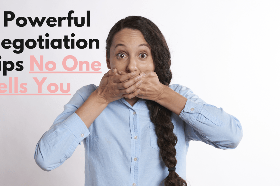 3 powerful negotiation tips