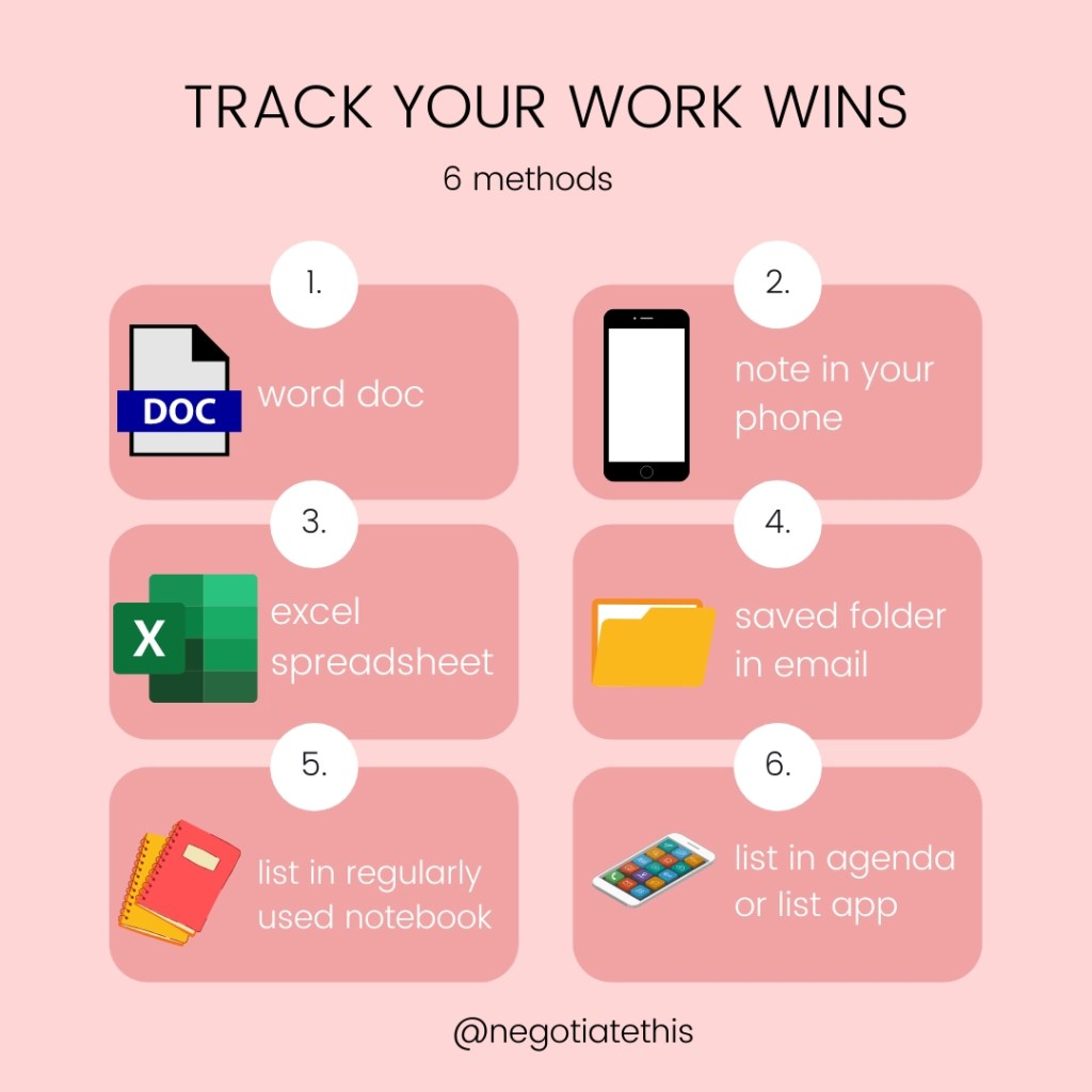 reasons to track your work wins