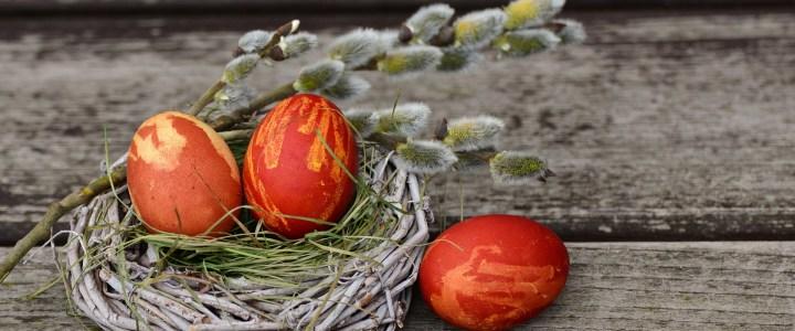 Боядисване на великденски яйца с природни материали