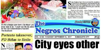 September 10, 2017 newspaper