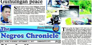 September 17, 2017 Newspaper