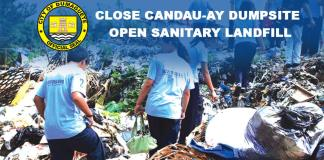 close-candau-ay-dumpsite-open-landfill close dumpsite