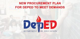 deped needs new procurement plan