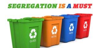 segregate trash