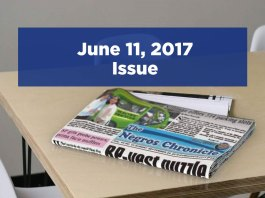 The Negros Chronicle Newspaper June 11, 2017 Issue