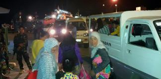 Marawi Evacuees in Dumaguete
