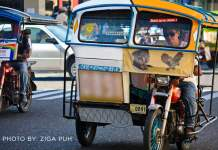 Tricycles Operators in Dumaguete