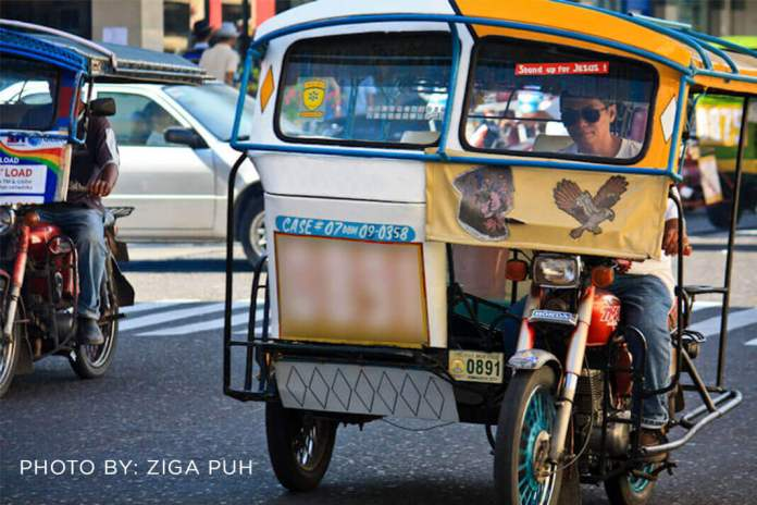 Tricycle Operators in Dumaguete