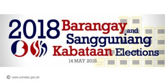 barangay elections 2018 news notes