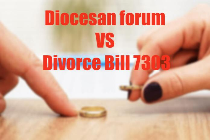 Diocesan forum vs Divorce Bill 7303
