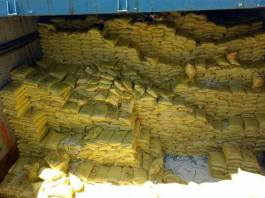 Smuggle Rice for the Philippines caught by customs
