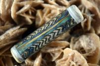 ivory effettre psyche double helix racking masking technique glass beadmaking