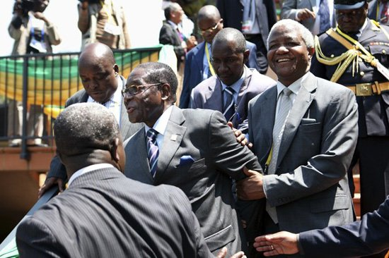 Image result for President Mugabe off to Singapore to seek medical care
