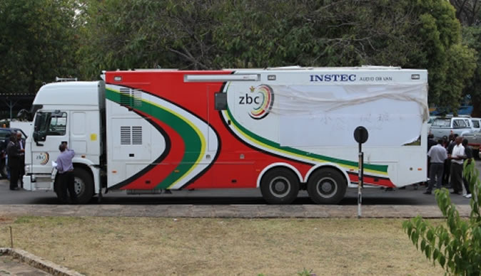 ZBC acquired this 12 channel OB van from China