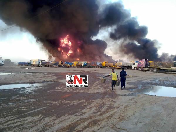 drc trucks fire 2