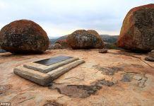 Cecil John Rhodes's grave