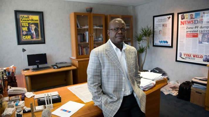 Zimbabwe media mogul and AMH owner Trevor Ncube