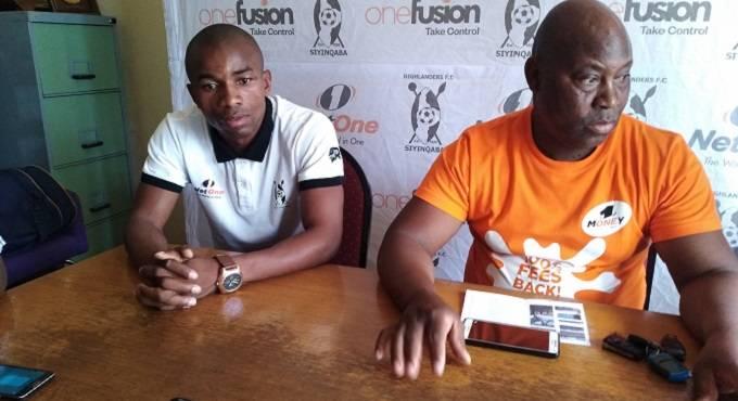 Gabriel Nyoni (left) and Madinda Ndlovu