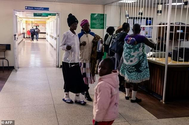 Doctors and patients say the state of Zimbabwe's once-vaunted hospitals reflects the state of the country after Mugabe
