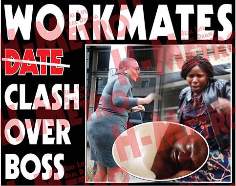 Workmates clash over boss