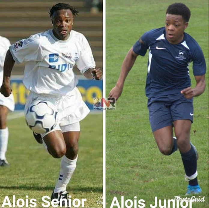 Over 25 years after Alois Bunjira set domestic football on fire with dazzling displays for Darryn T, Blackpool, Caps United and five more clubs in South Africa, his 16-year-old son Alois Junior Tinashe Bunjira is doing the same in the UK, scoring 6 goals in 6 matches for his new team.